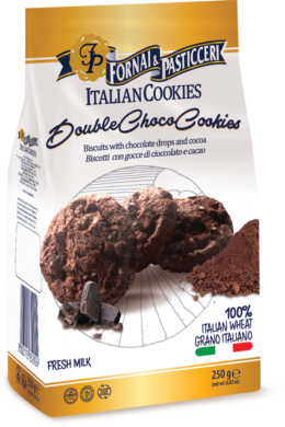 DOUBLE CHOCO COOKIES 250G